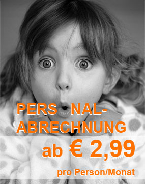 Personalabrechnung Witten - ab € 2,99 pro Person/Monat